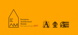 The European Architectural Medal. Deadline extended until October 30th, 2017.