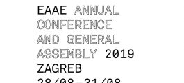 EAAE Annual Conference and General Assembly 2019